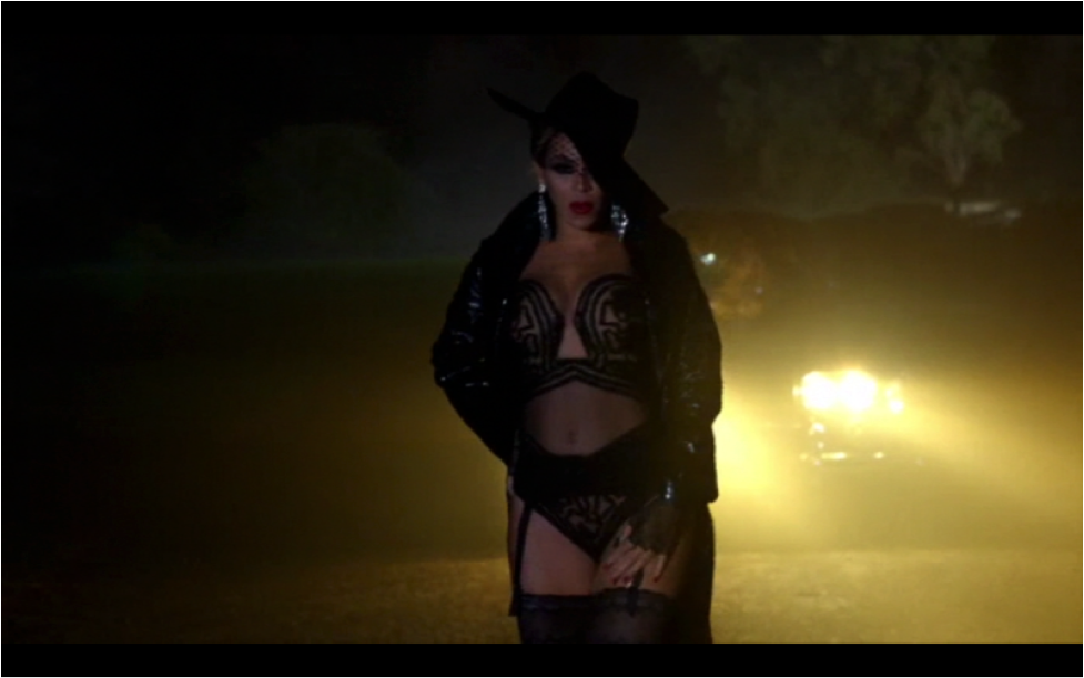 beyonce partition music video outfit