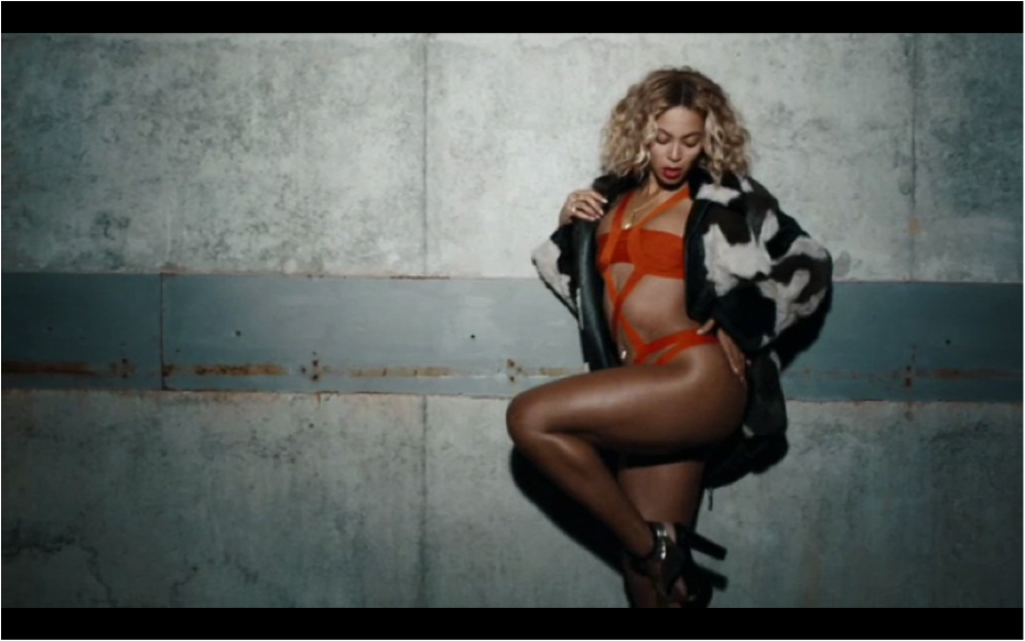 beyonce yonce music video herve leger
